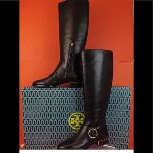 Tory burch sz 7.5 new with box boots